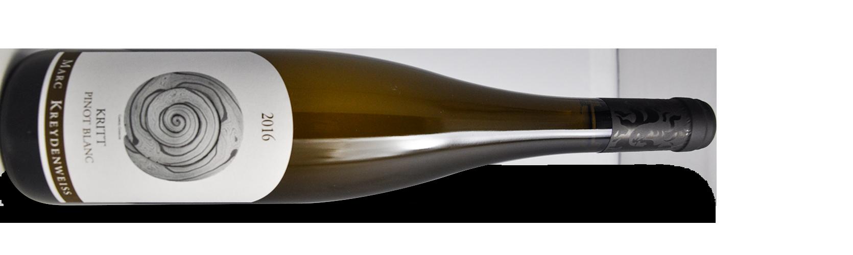 """Domaine Marc KREYDENWEISS, pinot blanc """"KRITT"""" 2016"""