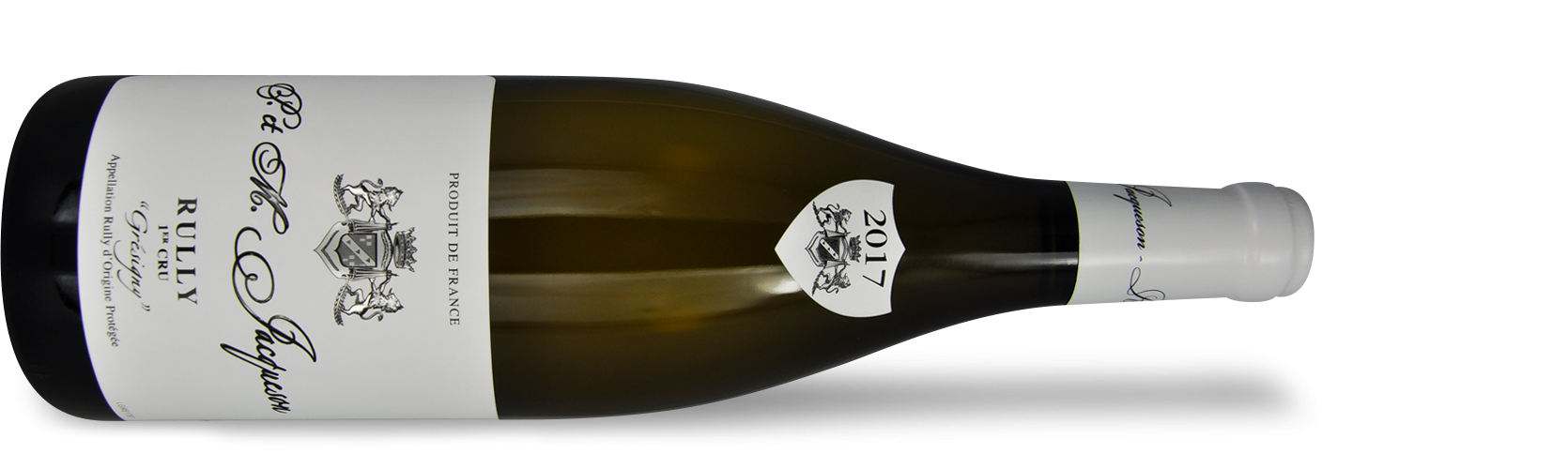 """Domaine Paul & Marie JACQUESON, Rully 1er Cru """"GRESIGNY"""" 2017"""