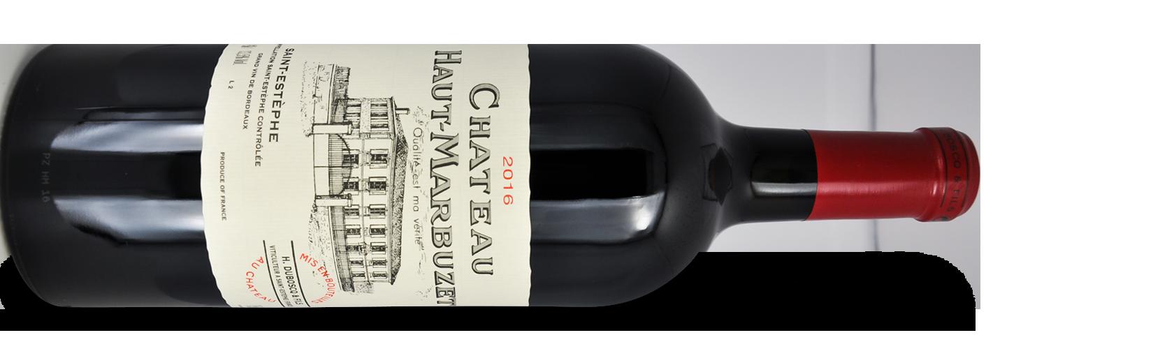 Château HAUT-MARBUZET, Cru Bourgeois Exceptionnel 2016 magnum