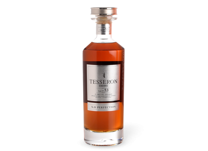 "Cognac TESSERON, Grande Champagne ""LOT N°53 XO PERFECTION"""