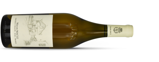 """Domaine MACLE, Côtes-du-Jura Blanc """"SOUS VOILE"""" 2014"""