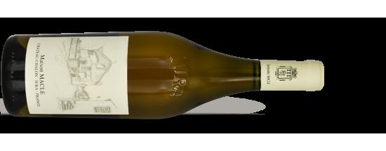 """Domaine MACLE, Côtes-du-Jura Blanc """"SOUS VOILE"""" 2015"""